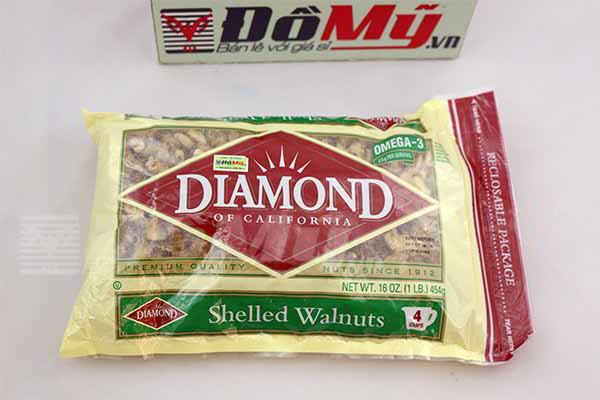 Hạt Óc Chó Diamond của Mỹ cao cấp loại 454g