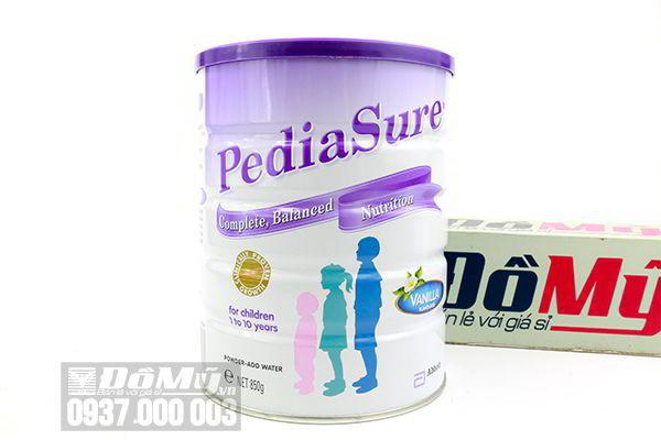 PediaSure Vanilla 850g- sữa bột dinh dưỡng dành cho trẻ từ 1 – 10 tuổi của Úc