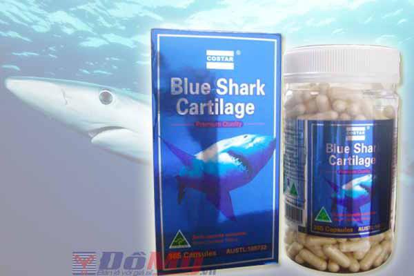 Sụn Vi Cá Mập Blue Shark Cartilage 750mg 365 viên của Úc