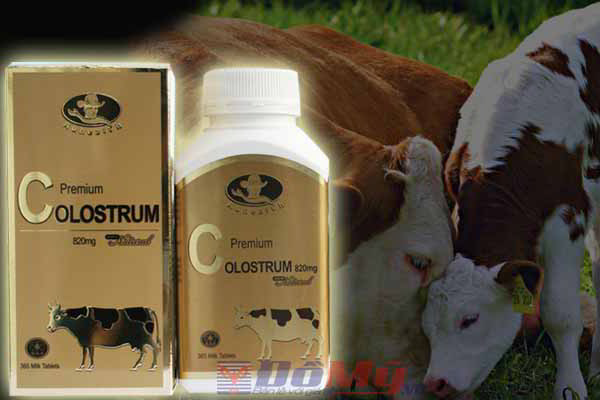 Sữa bò non AUHEALTH Premium Colostrum 820mg 365 viên của Úc