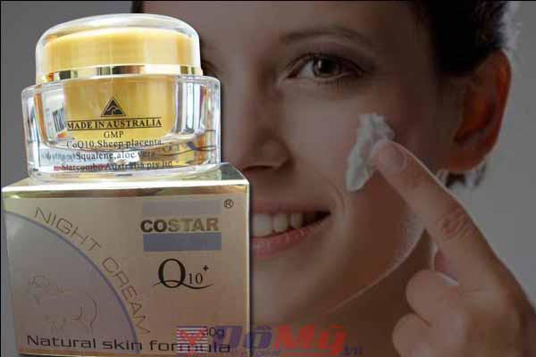 Kem dưỡng da ban đêm Costar Night Cream Q 10 Từ Nhau Thai Cừu