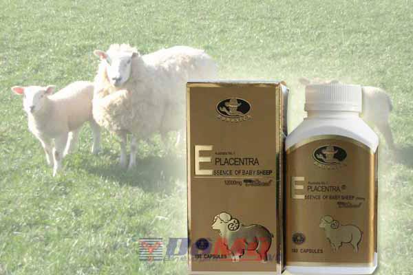 Viên uống nhau thai cừu Placentra của Úc, hộp 180 viên, 12000mg
