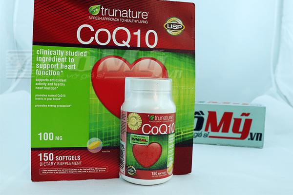 Thuốc bổ Tim Mạch Trunature® CoQ10 100 mg 150viên của Mỹ