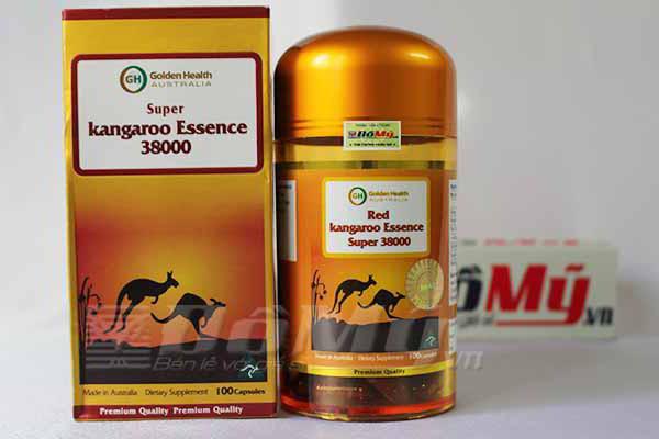 Super Kangaroo Essence 38000 Úc- Thuốc Bổ Tăng Sinh Lý