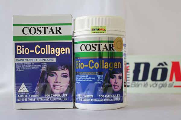 Viên uống Bio Collagen Costar cho da căng mịn, trẻ trung 100 viên của Úc