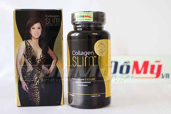 Viên uống giảm cân Collagen Slim hộp 30 viên của Mỹ