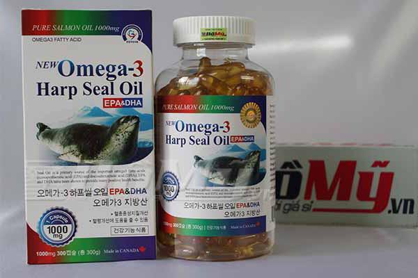 Tinh Dầu Hải Cẩu Omega3 Hàn Quốc Sản Xuất Bởi Canada