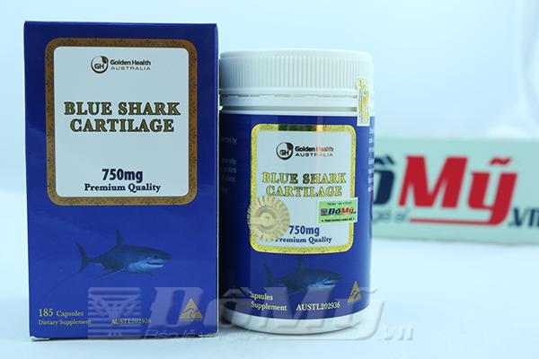 Sụn cá mập xanh Golden health 750mg 185 viên nhập từ Úc