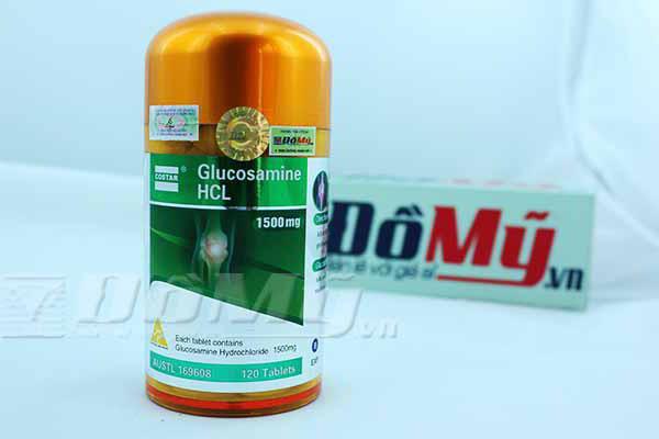 Hỗ trợ khớp Glucosamine 1500mg HCL Costar của Úc