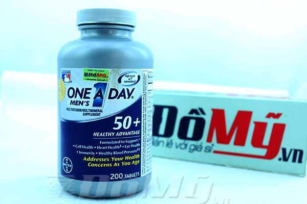 Vitamin Tổng Hợp Nam Giới Trên 50 Tuổi One A Day 200 Mỹ