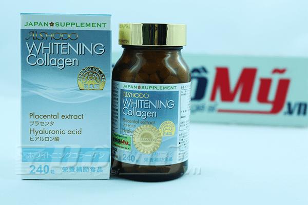 Viên Uống Trắng Da Whitening Collagen 240 viên của Nhật