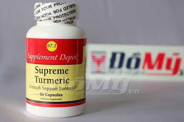 Thuốc Turmeric Extract Trị Đau Bao Tử Mỹ