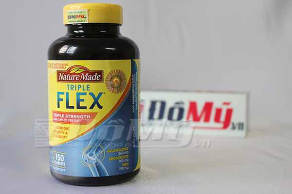 Thuốc bổ khớp của Mỹ Nature Made TripleFlex® Triple Strength hộp 150 viên