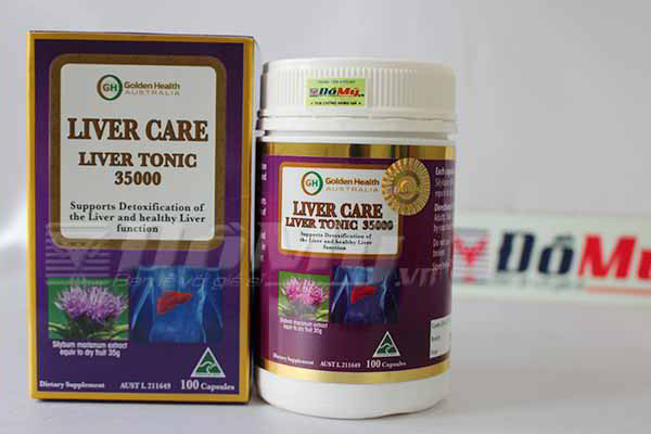 Viên uống bổ gan Liver Care Liver Tonic 35000mg Golden Health