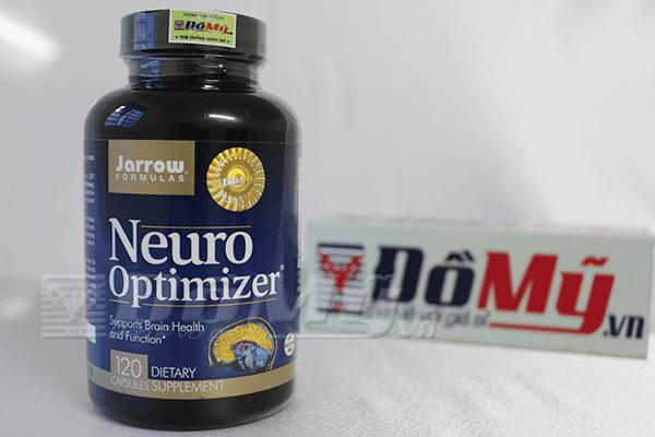 Tăng cường trí nhớ Neuro Optimizer Jarrow Mỹ hộp 120 viên của mỹ