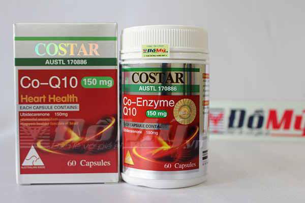 Thuốc bổ tim mạch CoQ10 Costar 150mg 60 viên nhập từ Úc