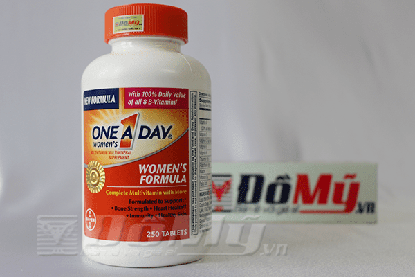 ONE A DAY Women's Formula Vitamins, 250 viên, xuất xứ Mỹ