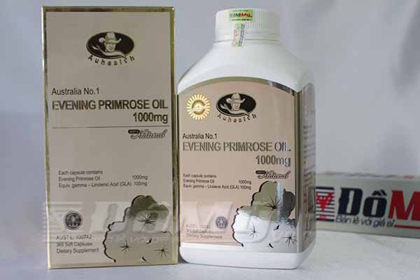 Tinh Dầu Hoa Anh Thảo Evening primrose oil - Úc