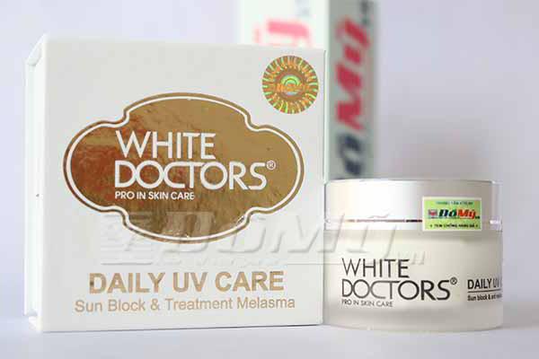 Kem chống nắng ngăn ngừa nám da White Doctors ( DAILY UV CARE )
