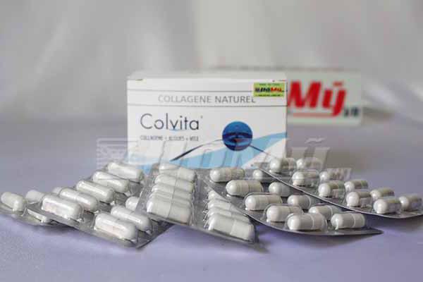 Viên uống khôi phục làn da chống lão hóa da Collagen Q5-26 Colvita của Pháp