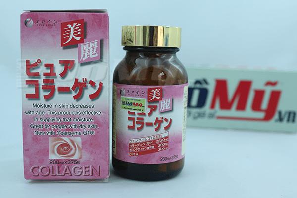 Bổ sung Collagen Fine Pure 375 viên Nhật Bản