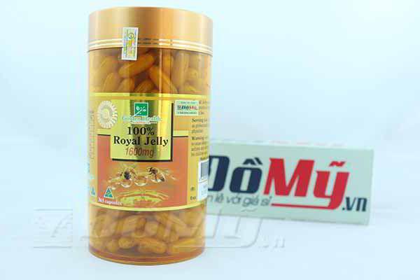 Viên uống Sữa Ong Chúa Golden Health 1600mg 365 Viên của Úc