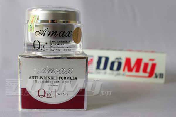 Kem dưỡng da nhau thai cừu của Úc Amax Anti Wrinkle Formula Q10 loại 50g