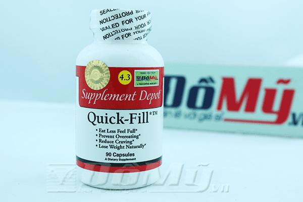 Viên giảm cân Quick Fill Mỹ - Ăn ít mà vẫn thấy no