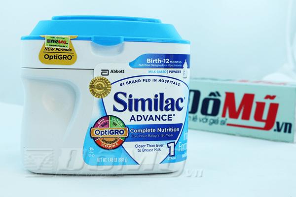 Sữa bột Similac Advance dành cho bé từ 0-12 tháng - Mỹ