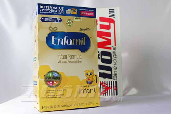 Sữa Enfamil PREMIUM ® Infant 941g cho bé từ 0-12 tháng nhập nguyên hộp từ Mỹ