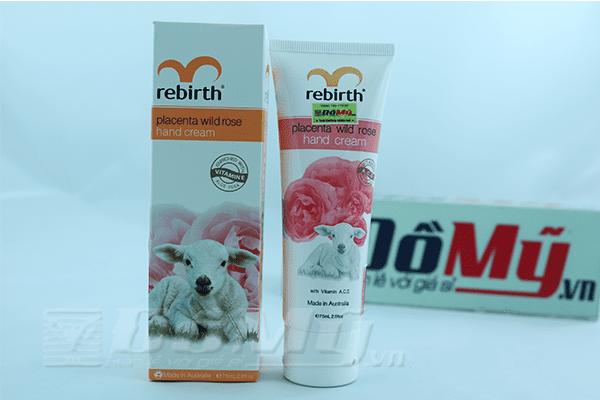 Kem dưỡng da tay hương hoa hồng Rebirth 75ml - Lanopearl