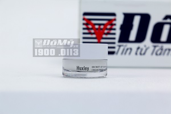 Kem dưỡng da ẩm mượt dạng gel cao cấp Huxley Cream Fresh and More 7ml