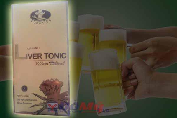 Hỗ Trợ Gan Liver Tonic Auhealth 7000mg của Úc