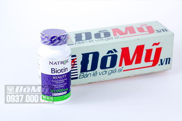 Tác dụng của viên uống Natrol Biotin là gì?