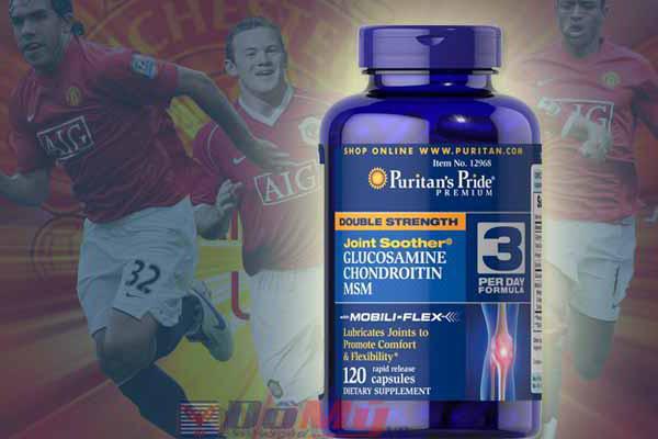 Glucosamin Chondroitin MSM Puritan's Pride 120 viên của Mỹ