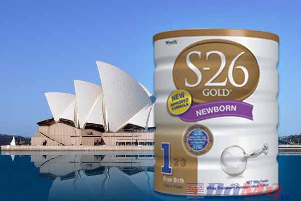 Sữa S26 gold 1 900g - Nhập từ Úc