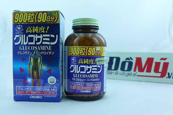 Viên uống Glucosamin Orihiro của Nhật 1500mg