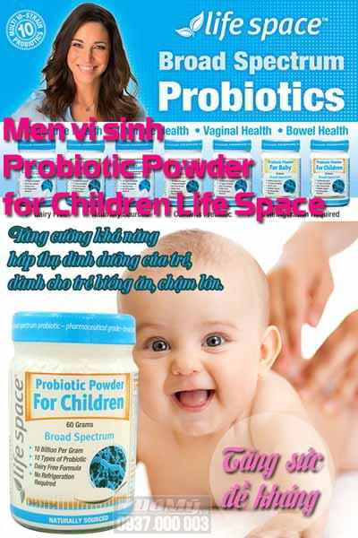 Những tác dụng tuyệt vời mà trẻ em cần bổ sung viêm lợi khuẩn đường ruột