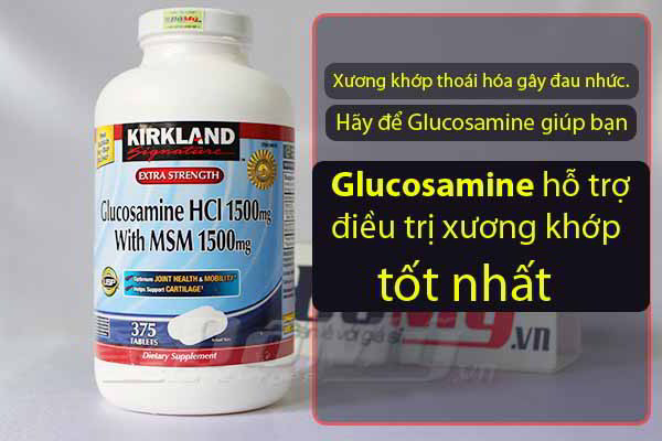 Thuốc Glucosamine của Mỹ loại nào tốt nhất hiện nay?