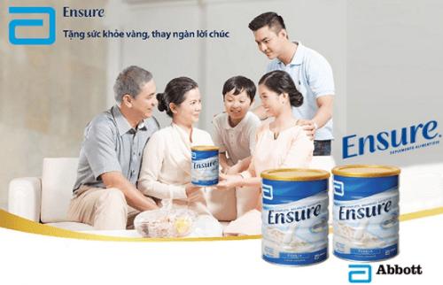 Uống sữa ensure đúng cách tốt cho sức khỏe