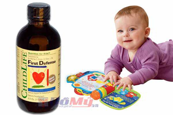 Childlife® First Defense - Tăng cường hệ miễn dịch cho bé(120 ml)