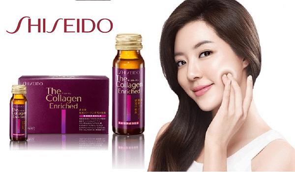 Collagen shiseido chính hãng dạng nước