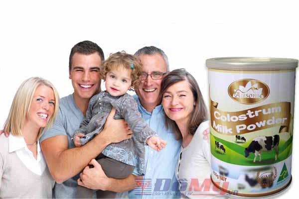 Sữa bò non Ausome Colostrum milk powder - Sữa non của Úc