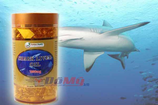 Viên uống dầu gan 1000mg Golden Health 365 viên của Úc