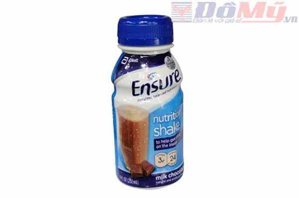 Sữa Ensure nước hương chocolate 237ml nhập từ Mỹ dành cho mọi lứa tuổi