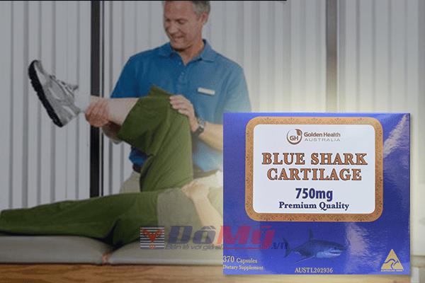 Golden Health Shark Cartilage - Sụn Vi Cá Mập Cao Cấp