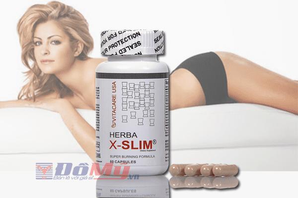Viên giảm cân Herba X-Slim lọ 60 viên Mỹ