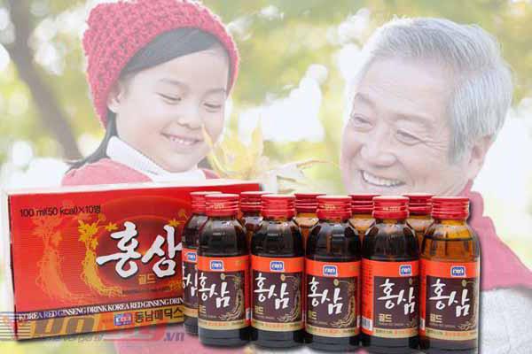 Nước Hồng Sâm Hàn Quốc - Red Ginseng