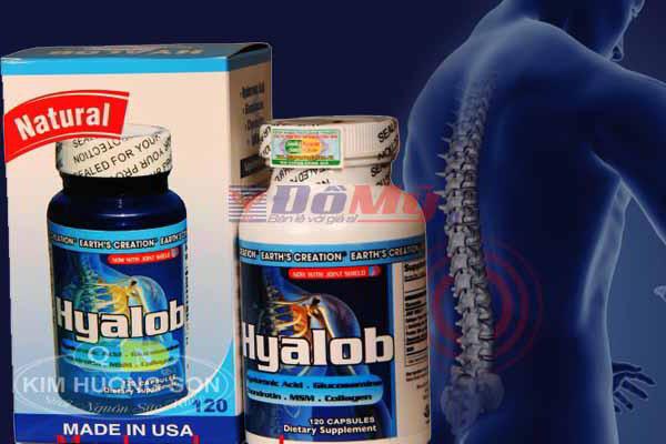 Viên bổ khớp Hyalob 120 Viên - Mỹ