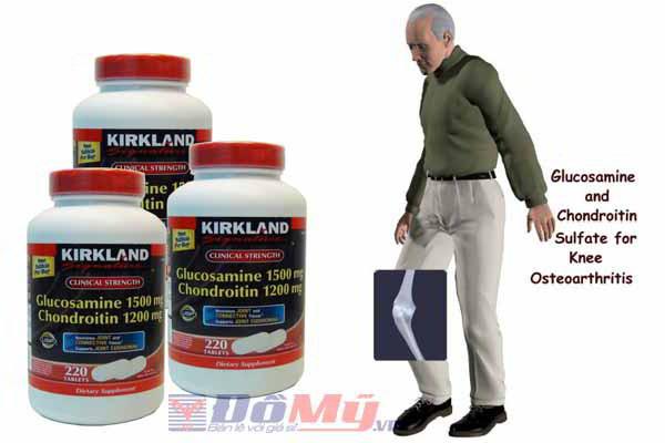 Thuốc bổ khớp Kirkland Glucosamine - 220 viên (Mỹ)